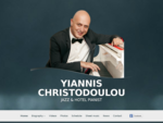 Yiannis Christodoulou jazz hotel and cruise pianist