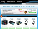 Sony Clearance Centre - Australia's ONLY Official Sony Outlet Store