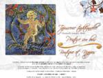 Sophie et Compagnie, tapisserie traditionnelle, peinture sur bois, Marciac