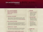 Spa Entertainment | concert agency
