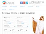 PigÅ«s skrydžiai, pigÅ«s lÄ-ktuvų bilietai - Sparnas. lt