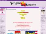 Speelgoed4Kinderen, Online Speelgoedwinkel... Goedkope LEGO, goedkoop Playmobil, Speelgoed voor