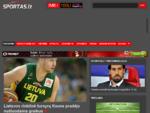 Sportas. lt - Krepšinis | Futbolas | Atletika | Ledo ritulys | Tenisas | Auto sportas | F-1