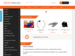 e-shop - E-shop SportHABAčeK sportovní potřeby