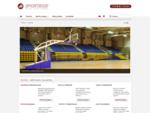 Sportidus - Sporto įranga, krepšinio konstrukcijos, treniruokliai, aikštynų dangos