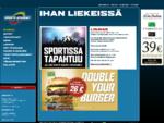 Sports Academy Helsinki – Sporttibaari | Urheiluravintola | Ruokaravintola | Tilaussauna