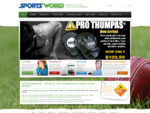 Sporting gear from people you know who know your sport - Sportsworld