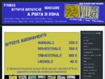 SportVillage | Sport Village | palestra | fitness | Vigne Nuove | porta di Roma | Bufalotta |