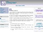 SPPC - Sociedade Portuguesa de Psicologia Clínica Bem-vindos