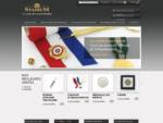 STADIUM - Décorations, distinctions, écharpes, insignes, médailles et monnaies - Création et fab