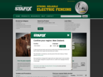 Strong, Reliable Agricultural Electric Fencing | Stafix