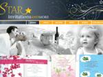 Προσκλητήρια Γάμου και Βάπτισης | Star invitations and more
