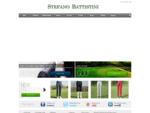 Stefano Battistini abbigliamento golf su misura online pantaloni tecnici camicie sartoriali maglioni