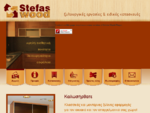 Stefas Wood| Στέφας Γιάννης-Έπιπλα κουζίνας-Ξυλουργικές εργασίες-Ξυλουργείο Βύρωνας| Home Page
