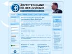 ÄRZTETREUHAND DR. BRAUNSCHMID - Ihr Ärzte-Steuerberater
