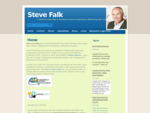 Steve Falk www. stevefalk. ca - Creative Leadership in Database Driven Fundraising, Marketing and