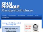 Massage Vasastan Stockholm Presentkort massage SthlmPhysique