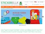 STICKERELLA GmbH - Wasserfeste individuelle Namensetiketten