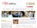 STILE ITALIANO - Corsi di cucina italiana - corso cucina base - corso cucina master - corso ...