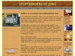 Stoffeerderij de Jong - Dé meubelstoffeerderij van Zeeland