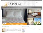 Stotex | posteljine | jastuk | jorgan | peskir | bade mantil | prekrivaci | zavese | saten |
