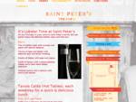 Saint Peter039;s | Trattoria, Restaurant and Bar | Melbourne CBD