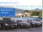 Organizzazione eventi Stresa Lago Maggiore BORRONI EVENTS Meeting, convention, servizio taxi ...