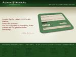 Achim Strinkau - Steuerberater - Intro