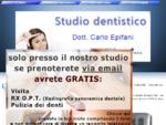 Studio dentistico Dott. Carlo Epifani a Ceglie Messapica.
