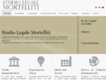 Home Page - Studio Legale Mortelliti - Avvocato - Reggio Calabria - Italy
