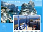 Studios Betty δωμάτια με θέα, διαμερίσματα, ξενοδοχείο στην Πλάκα Μήλος.