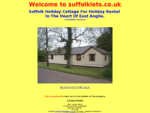 Suffolk holiday cottage accommodation for rental