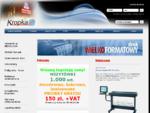 Kropka - Poligrafia Reklama - Zabrze - druk wilkoformatowy haft komputerowy grawerowanie laserem w m