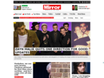 All the latest news, sport and celebrity gossip at Mirror. co. uk. Get all the big headlines, pic