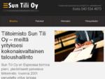 Tilitoimisto Sun Tase | Kirjanpito, yrityksen perustaminen, Alv-laskelmat, veroilmoitus ja veron
