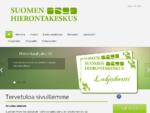 Suomen Hierontakeskus Etusivu - Vuosaari Roihuvuori Myllypuro Mellunkylä Vartiokylä Kontula Herttoni