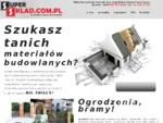 Portal internetowy oferujący materiały budowlane, sprzątanie kraków, materiały wykończeniowe potrz