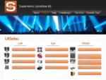 Supersonic Lydutleie AS Leie utleie, salg installasjon av lyd og lys