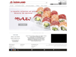 Restaurant Sushi agrave; Levallois-PerretSushi Land - Sushi-Land