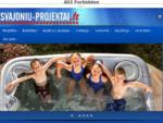 Svajonių Projektai | Vidaus ir lauko baseinai, SPA, baseinų įranga ir chemija