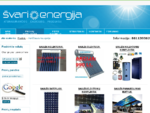 Saulės kolektoriai | Saulės šildytuvai | Saulės baterijos | Švari energija