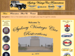 Sydney Vintage Car Restorations -> Homepage