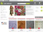 Svet metraže, metrsko blago, prodaja blaga in dekorativnih tkanin, šivanje