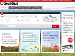 Swebus - Res prisvärt med buss till 150 resmål - Boka online