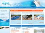 Swim bazény, zastřešení bazénů, vířivé vany Plzeň, Líně