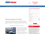 Sydney Coach Charter - Bus Hire Sydney for all Occations