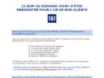 Hébergement, enregistrement de nom de domaine et services internet par 11 Internet