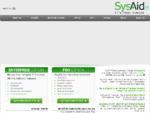 SysAid Help Desk - מערכת תמיכה, שירות וניהול מלאי למחלקת IT | SYSAID