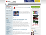 Table Tennis Equipment, Reviews, Tips, Forum, Blogs, News - Denis Table Tennis World