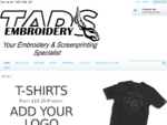 Home - Embroidery Adelaide and T-Shirts Printing TADS EMBROIDERY SERVICE